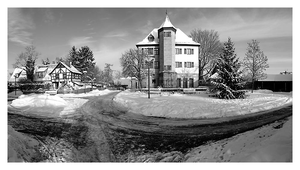 Winterimpression in Schwaig