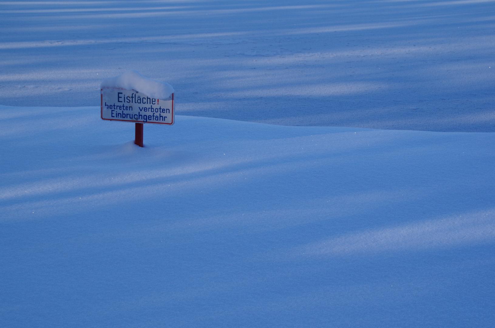 Winterimpressionen im Nymphenburger Park