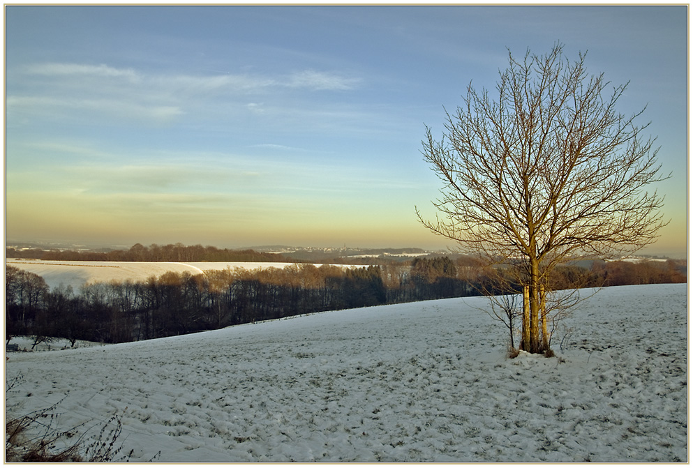 Winterlandschaft ...