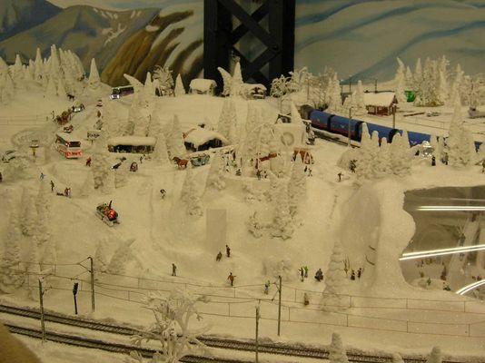 Winterlandschaft 2 im Miniaturwunderland