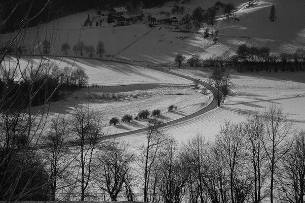 Winterlandschaft am Magdalensbert