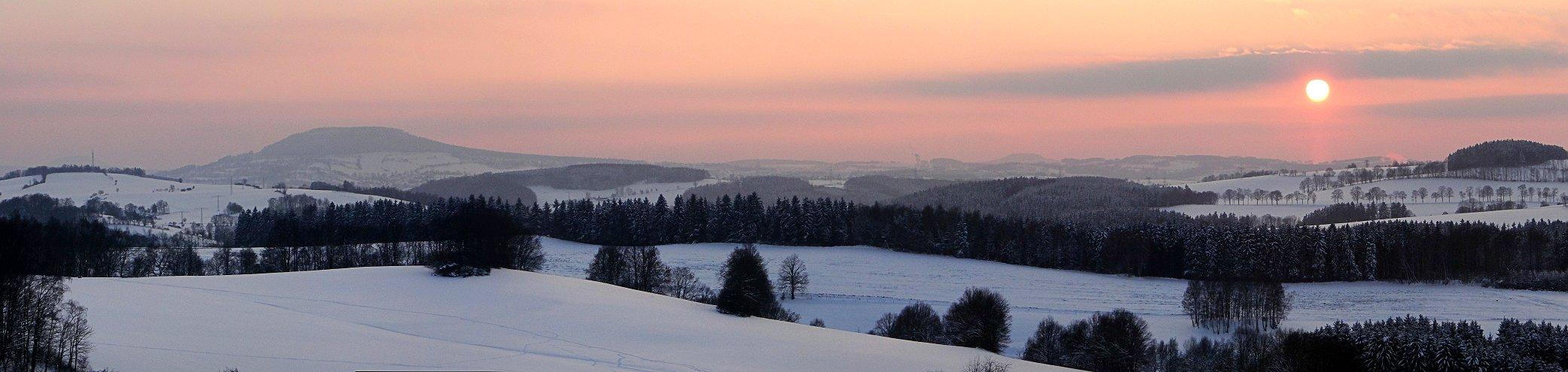 Winterlandschaft bei Wolkenstein