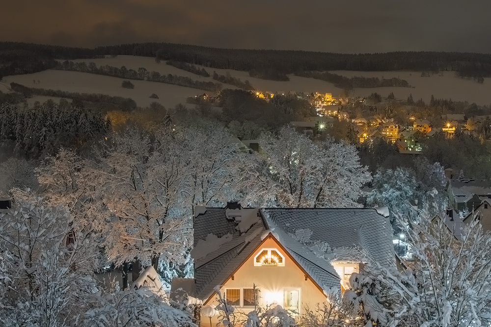 *** Winterlandschaft Erzgebirge ***
