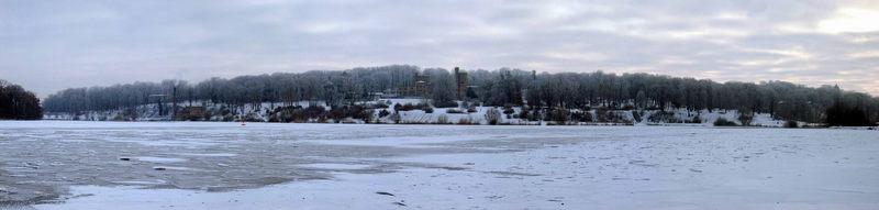 Winterlandschaft im Babelsberger Park