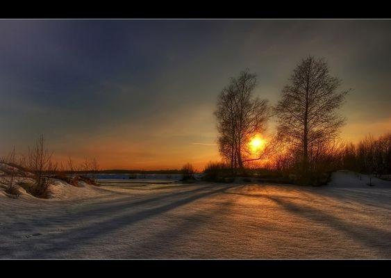 Winterlandschaft im Eggegebirge