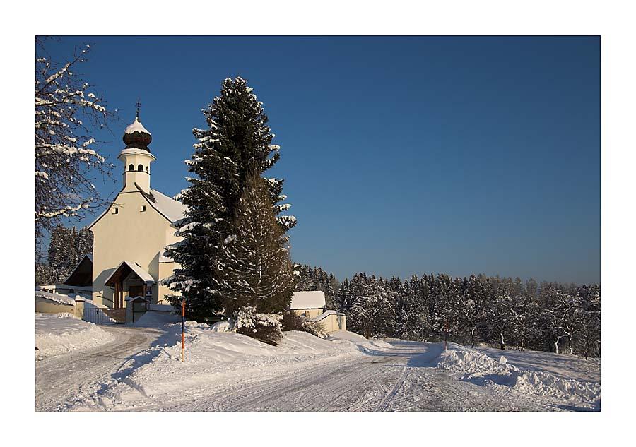 Winterlandschaft in der Steiermark