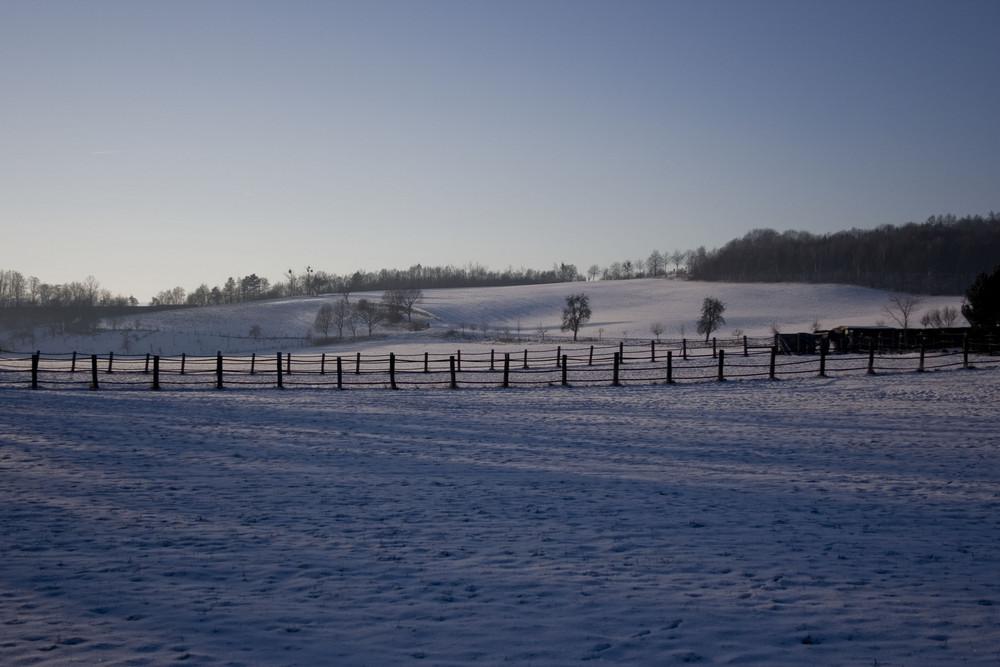 Winterlandschaft in Grasdorf