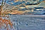 Winterlandschaft in HDR