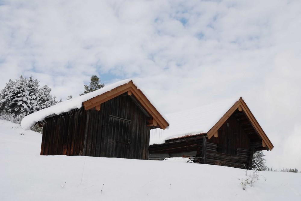Winterlandschaft in Mittenwald