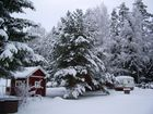 Winterlandschaft in Skruv/Südschweden