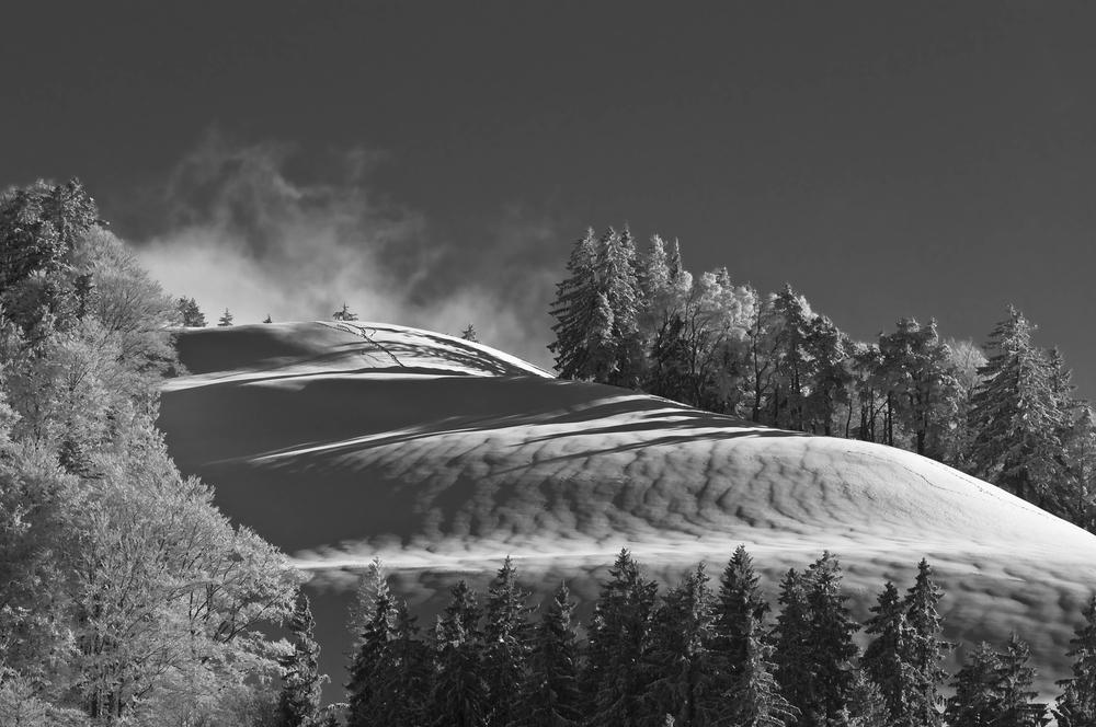 Winterlandschaft in SW