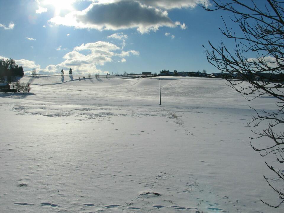 Winterlandschaft Oberpfalz
