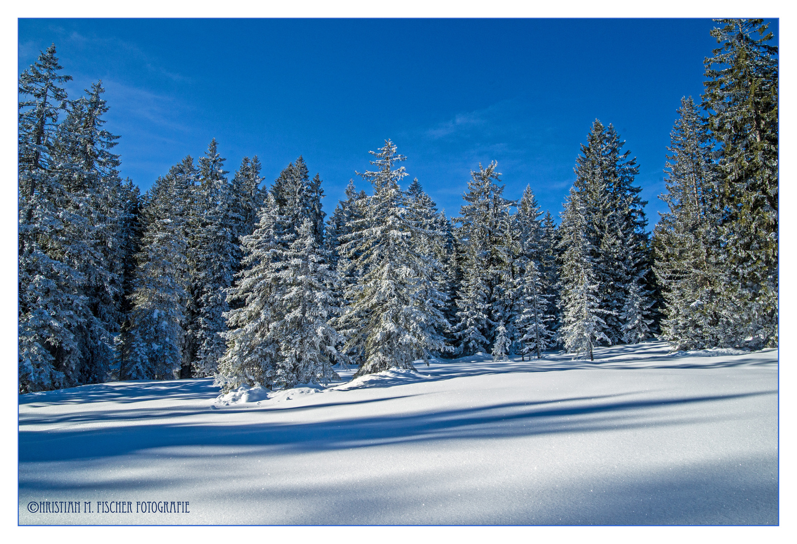 Winterlandschaft unterhalb des Brienzer Rothorn