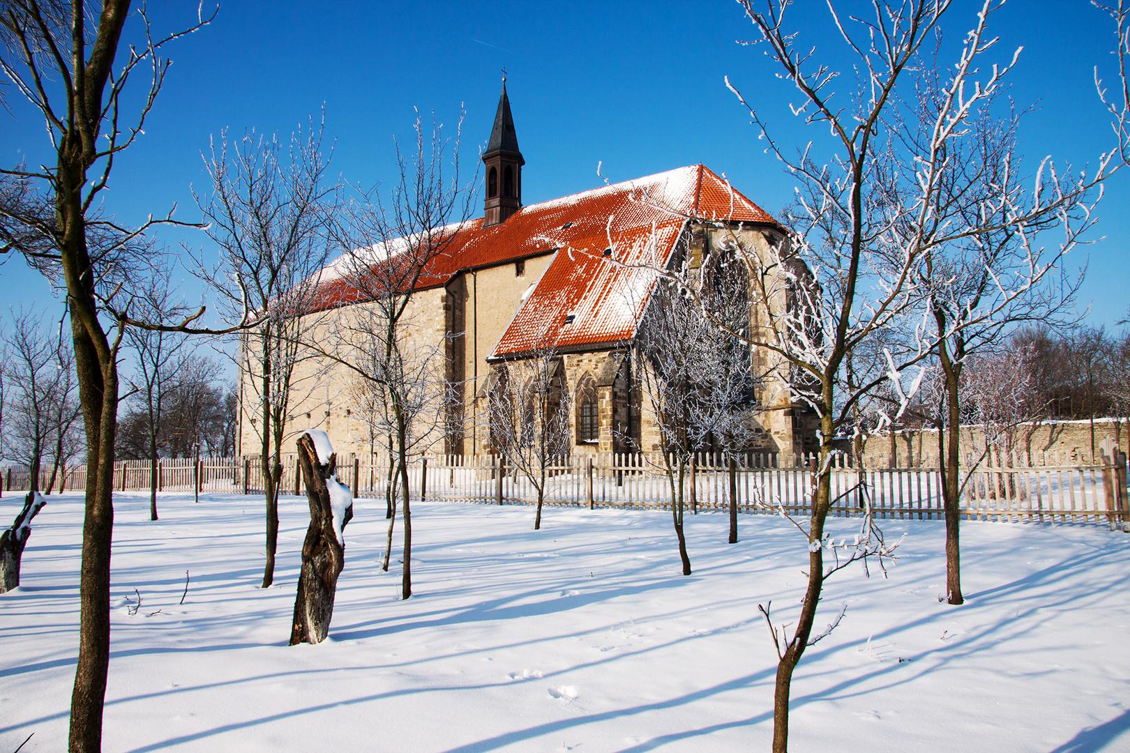 Winterlandschaft Wittenburg