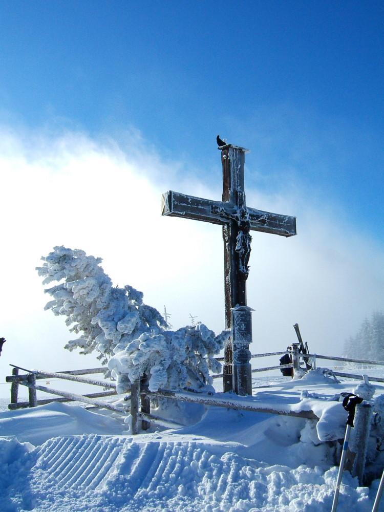 Winterlandschaften auf dem Roßfeld