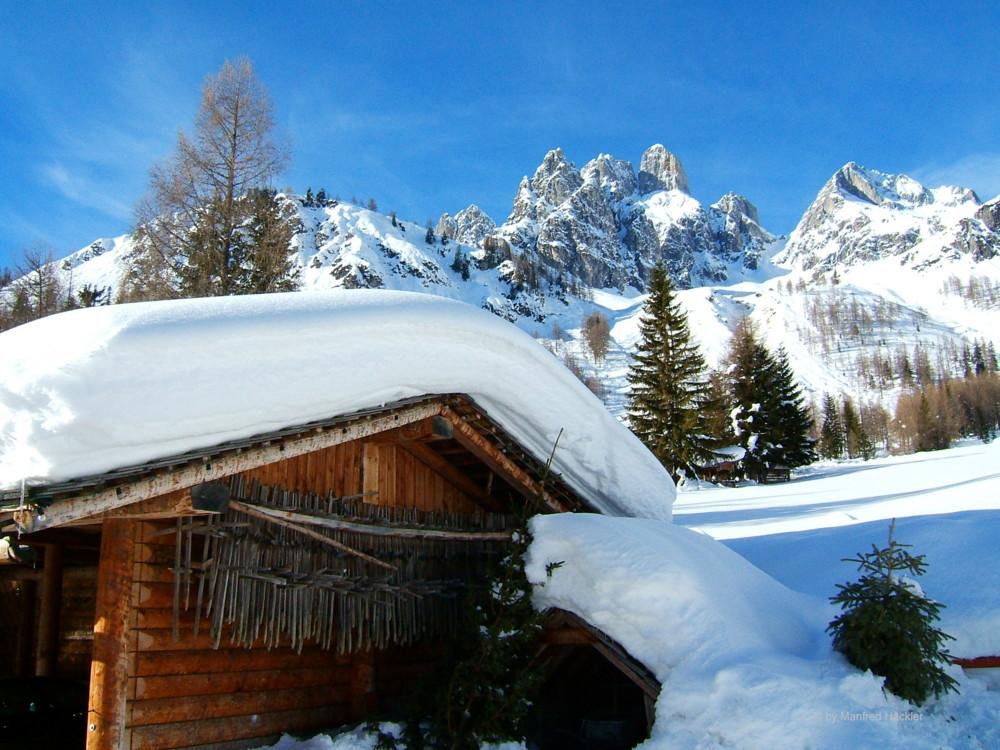 Winterlandschaften Filzmoos Bischofsmütze