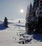 Winterlandschft bei Hermsdorf