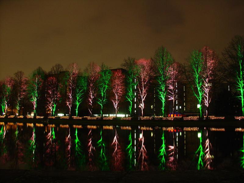 Winterleuchten im Dortmunder Westfalenpark
