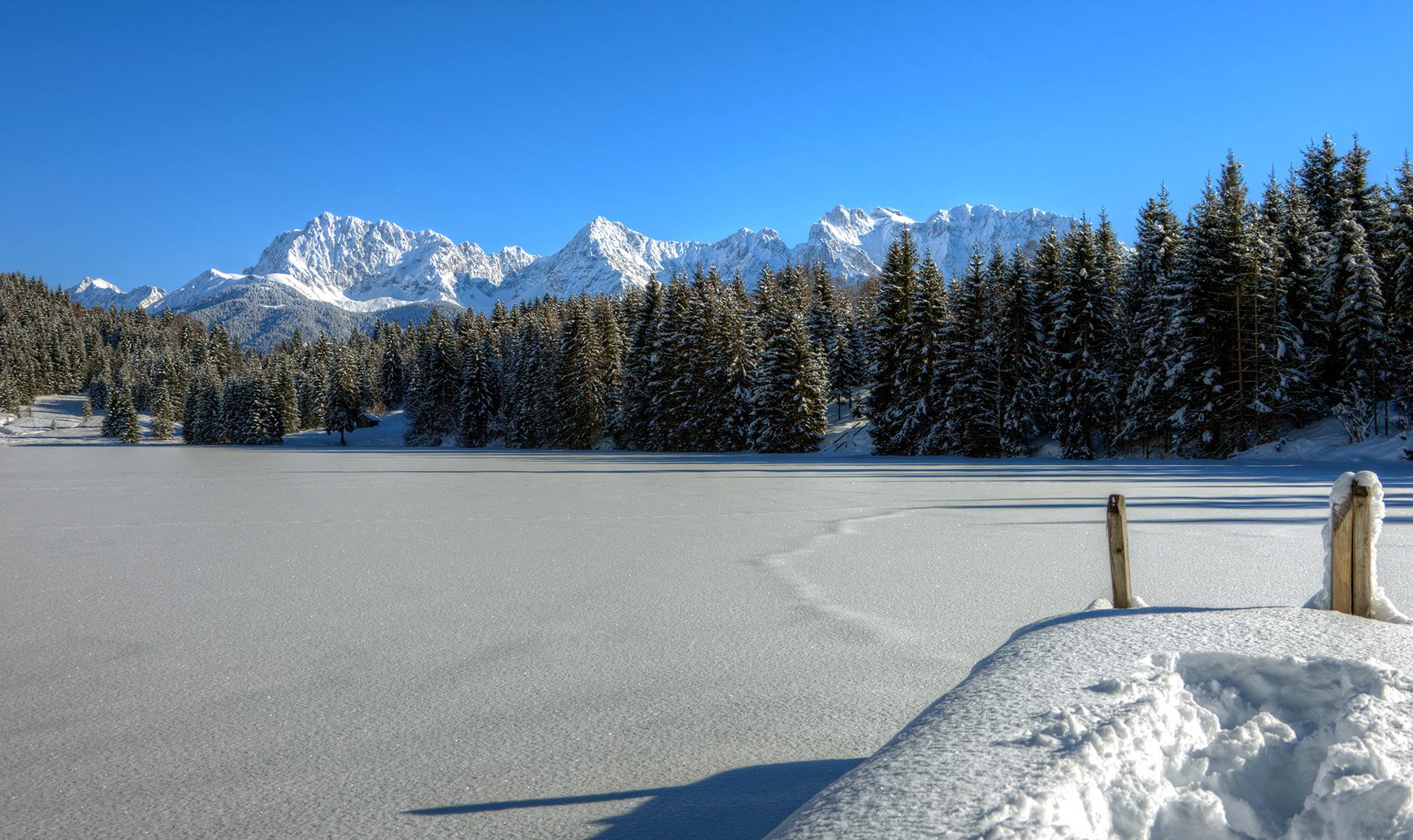 winterlich ruhig