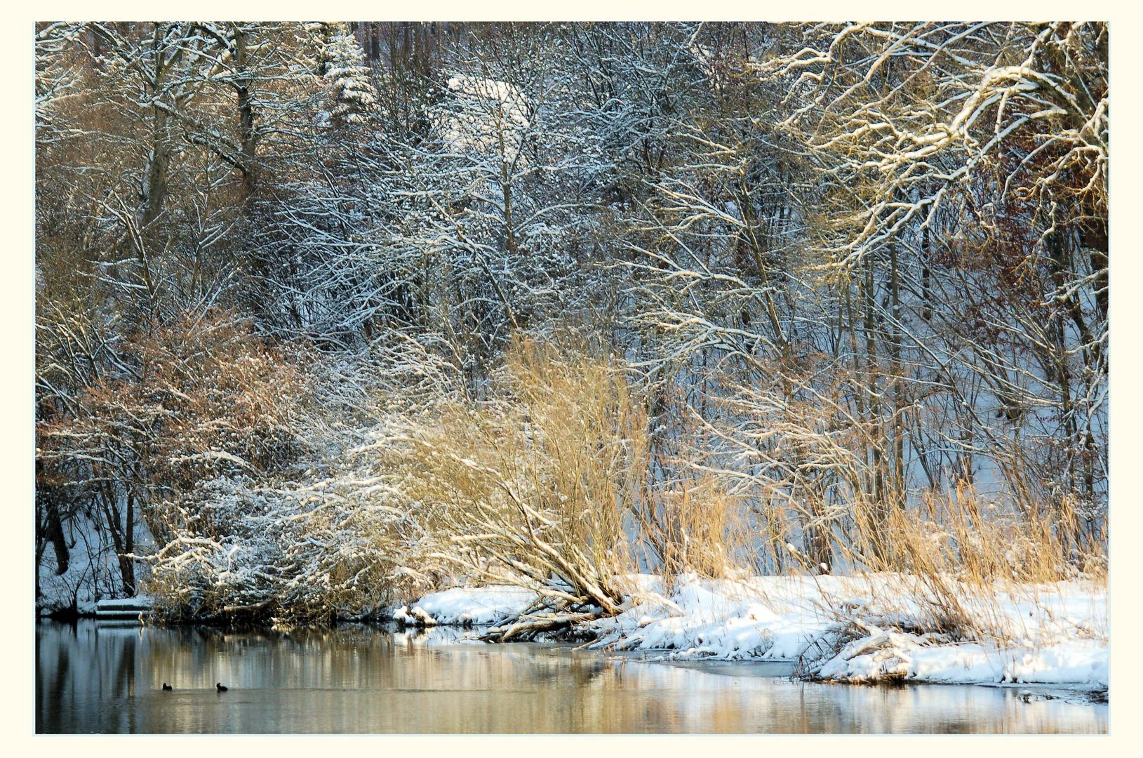 """""""Winterliche Altmühl"""""""
