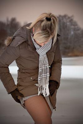 Winterliche Beinfreiheit