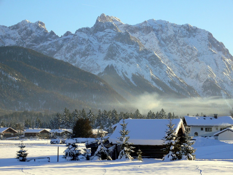 Winterliche berge foto bild jahreszeiten winter natur bilder auf fotocommunity - Winterliche bilder kostenlos ...