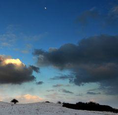 Winterliche Dunkelheit