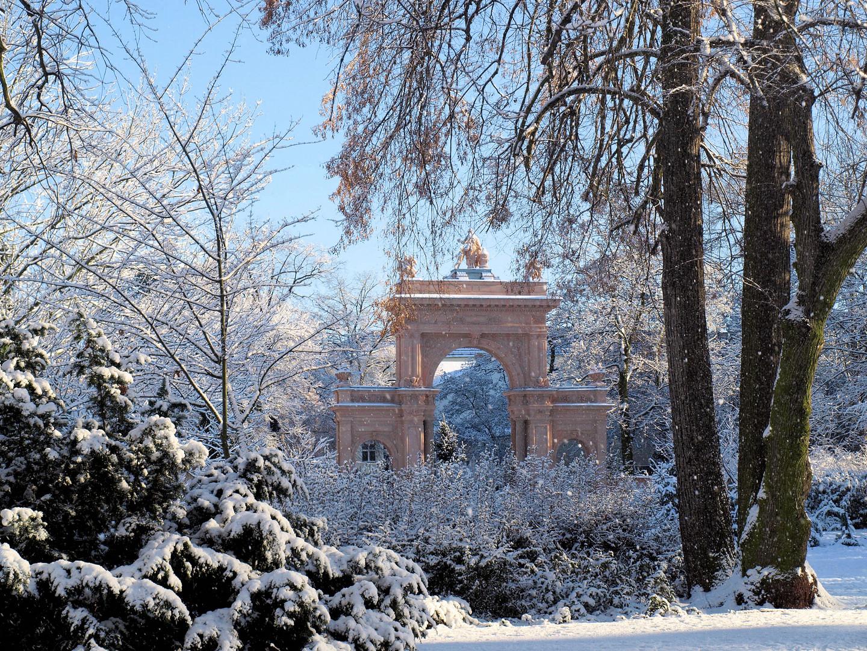Winterliche Grüße aus dem Bürgerpark