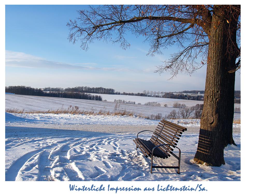 Winterliche gr e 2 foto bild landschaft b nke in der landschaft z une b nke - Winterliche bilder kostenlos ...