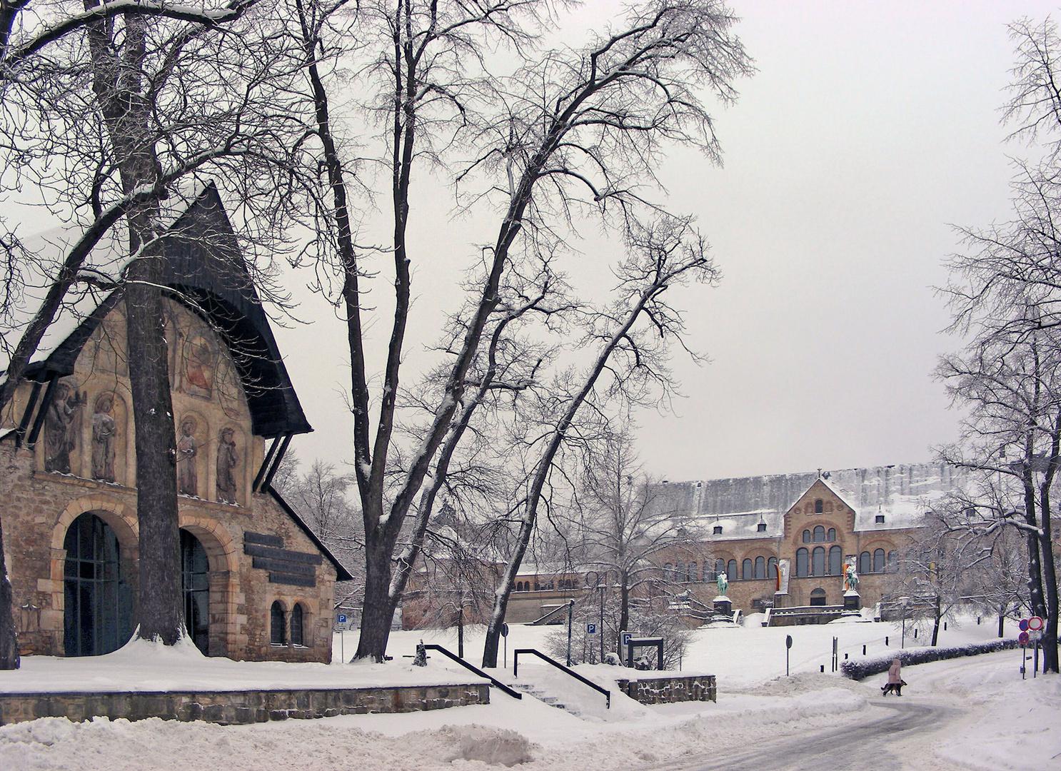 Winterliche Kaiserpfalz