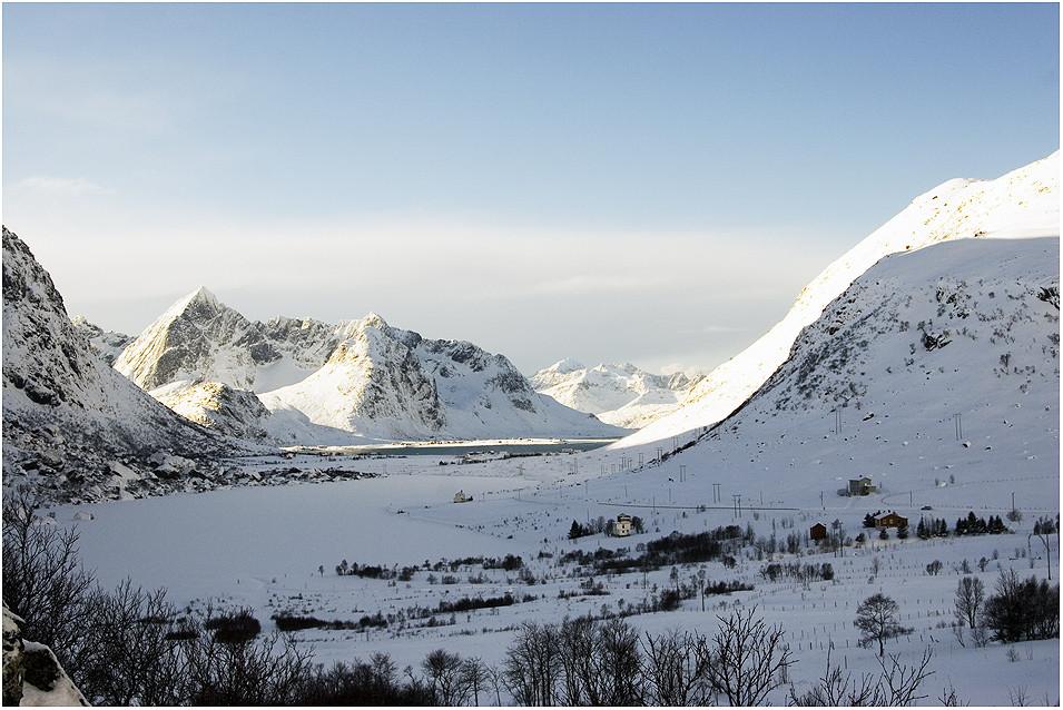 winterliche Lofoten