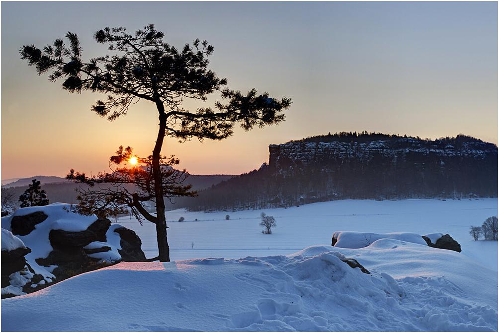 Winterliche Quirlaussicht II