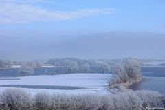 Winterliche Schlei bei Missunde