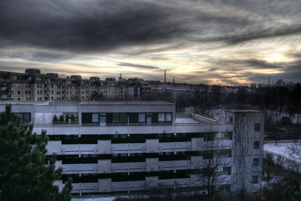 winterliche Stimmung in München