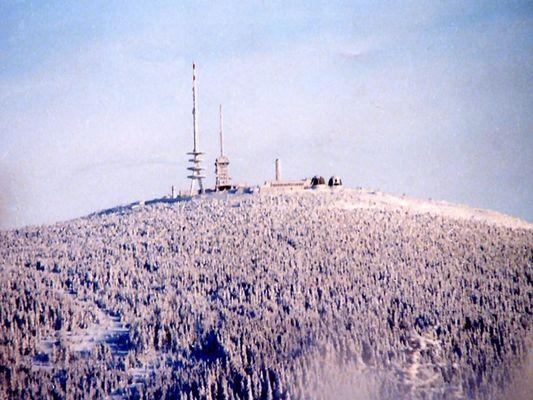 Winterlicher Brocken im Harz