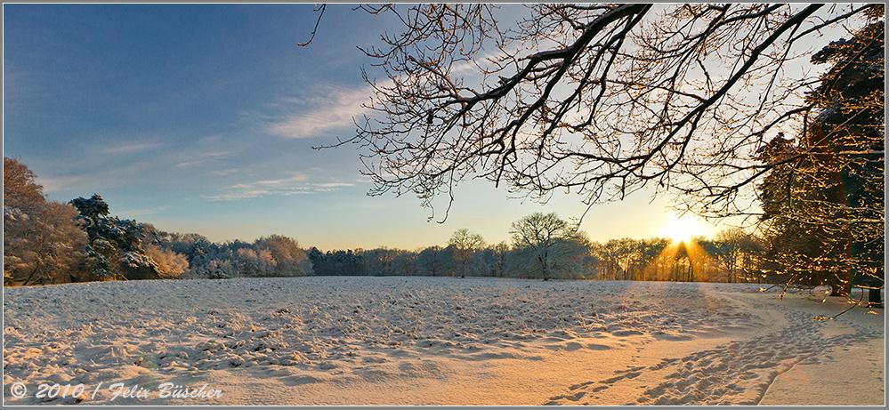 """Winterlicher Gruß zum """"neuen Jahr""""..."""