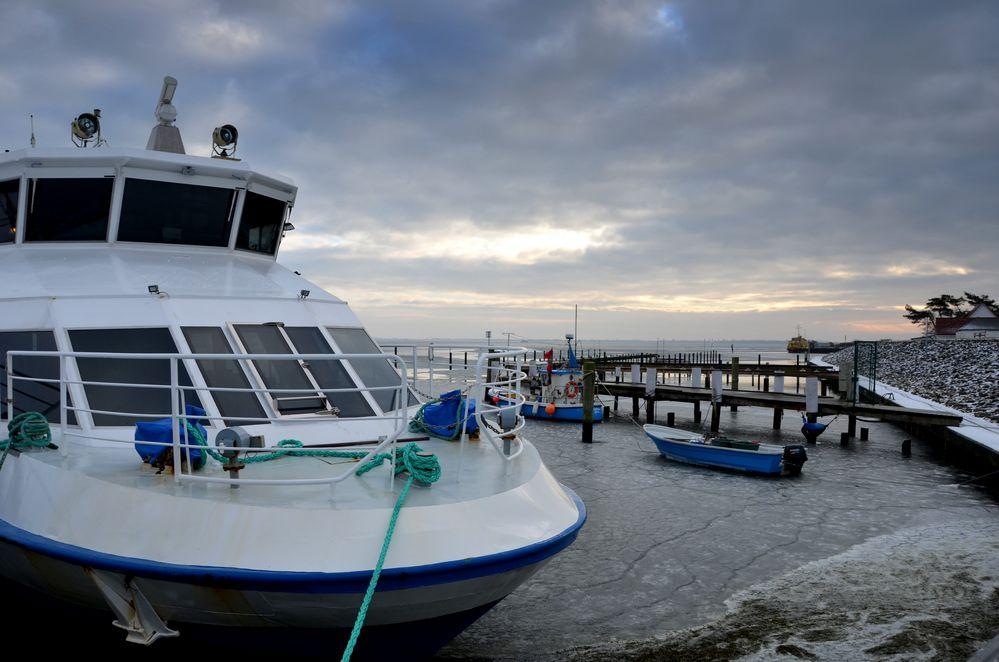 Winterlicher Hafen 2018