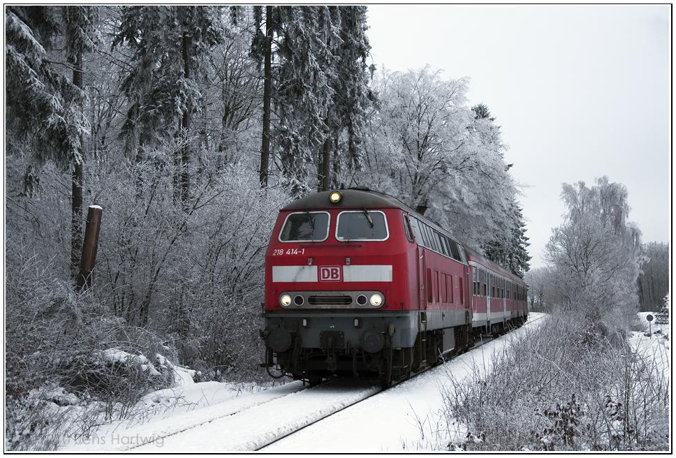 Winterlicher Hunsrück