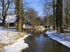 Winterlicher Spreewaldhof