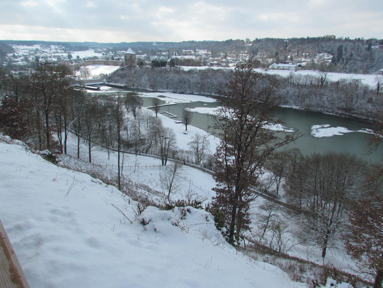 Winterlicher Wöhrsee