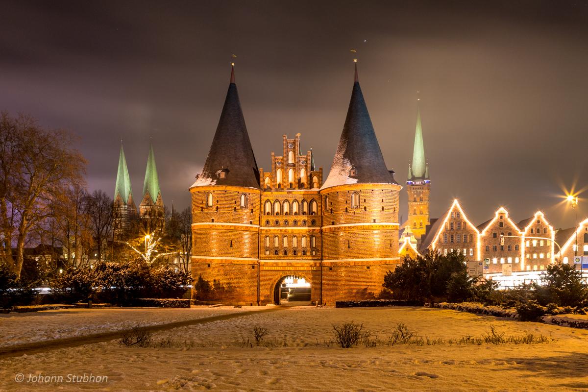 Winterliches Lübeck