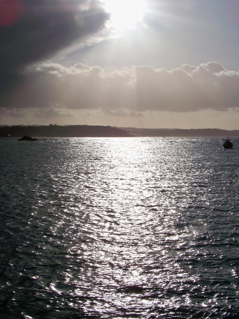 Winterlicht auf Erquy / Soleil d'Hiver sur Erquy (1)