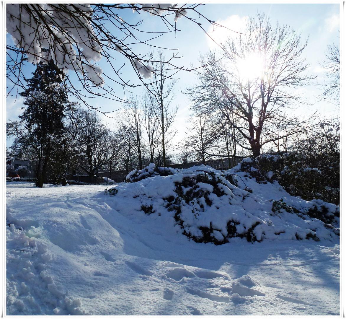 Wintermärchen in der Großstadt