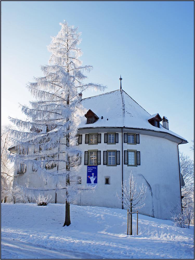 Wintermärchen-Schloss