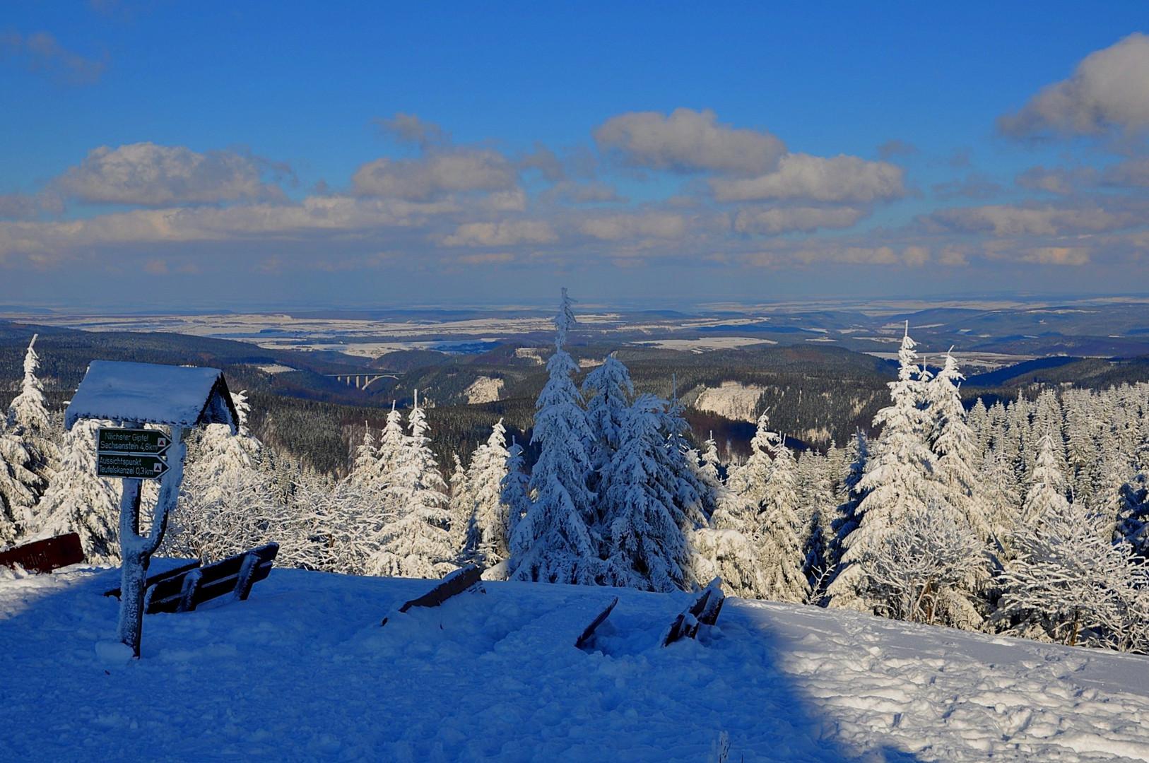 Wintermärchen Schneekopf