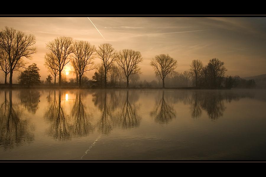 Wintermorgen ...