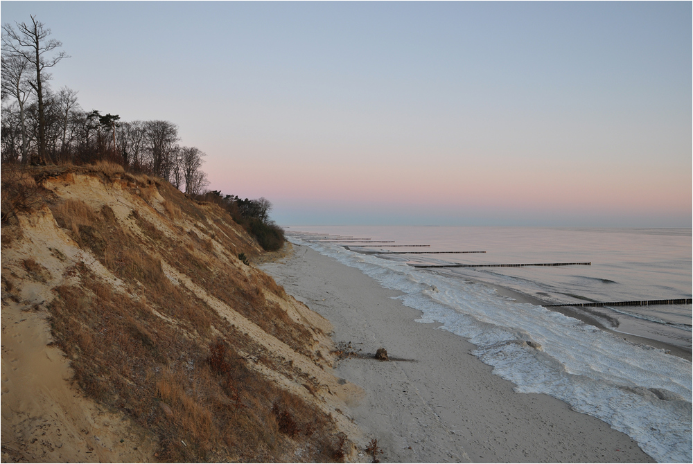 Wintermorgen auf Usedom