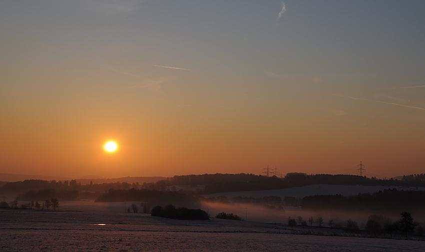 Wintermorgen.
