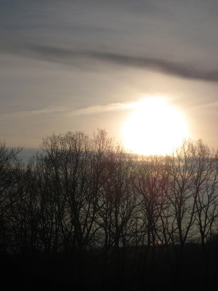 Wintermorgen im Sauerland
