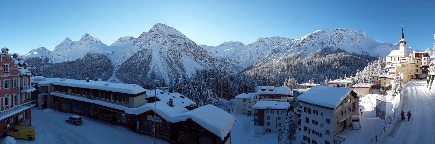 Wintermorgen in Arosa